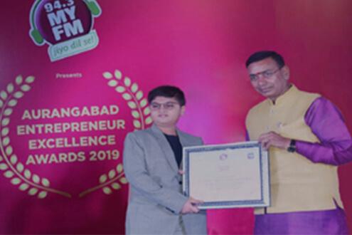 youngest entrepreneur aryen kute