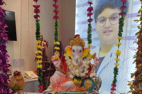 ganesh festival at OAO INDIA