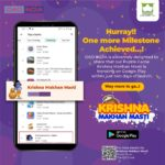 oao india's first mobile game krishna makhan masti tranding on play store