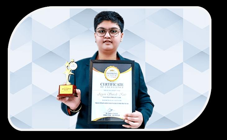 aryen kute as most innovative entrepreneur