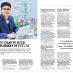 outlook business magazine highlighted aryen kute for his contribution in IT industry